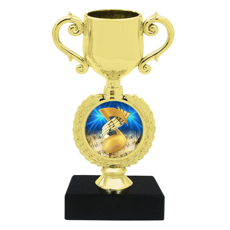 Small Music Trophy Cup
