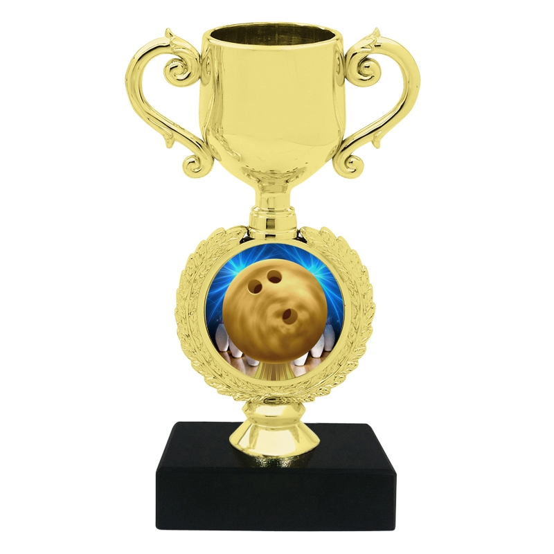 Small Bowling Trophy Cup