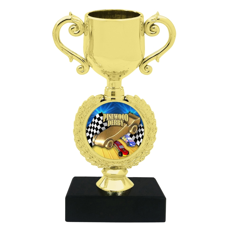 Small Pinewood Trophy Cup