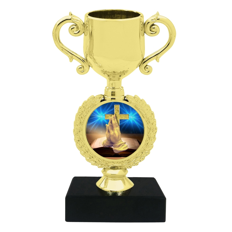 Small Religious Trophy Cup