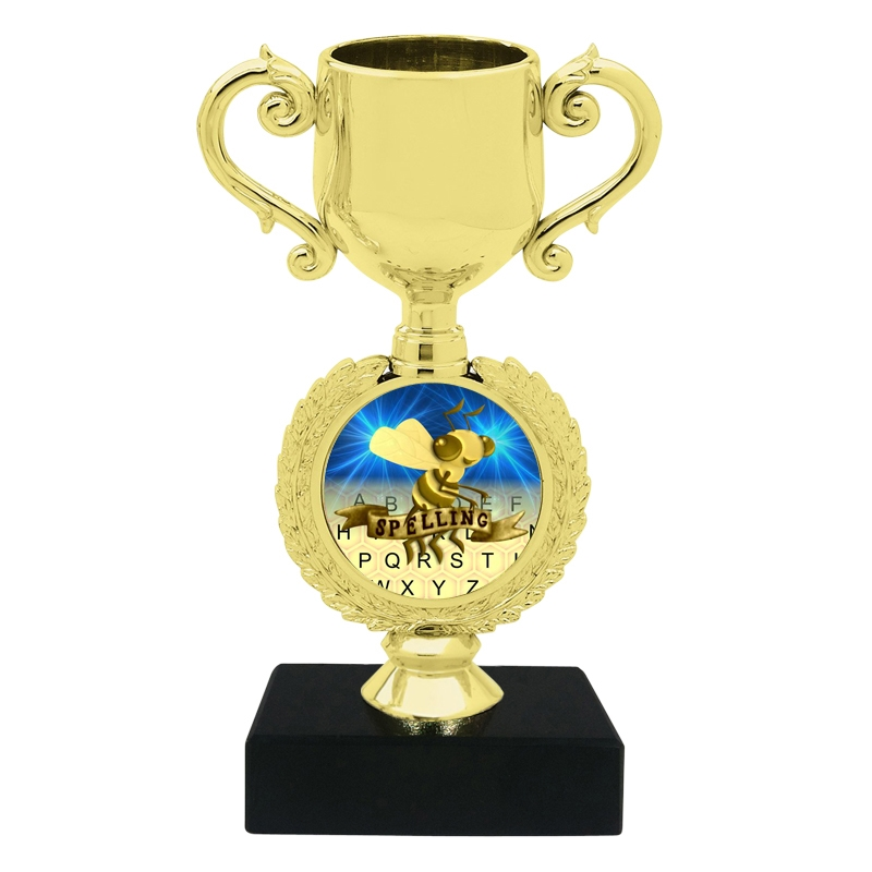 Small Spelling Bee Trophy Cup