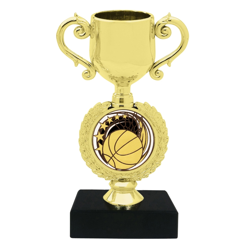 Basketball Insert Trophy Cup