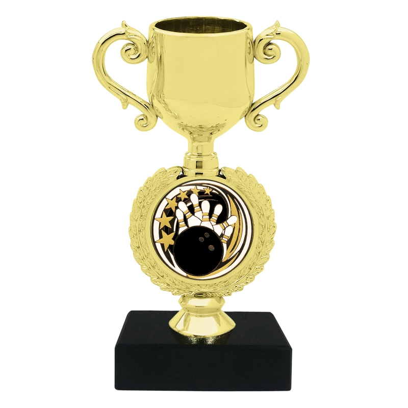 Bowling Insert Trophy Cup