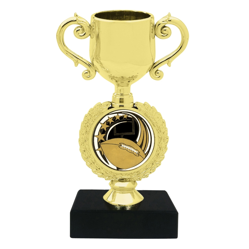 Football Insert Trophy Cup