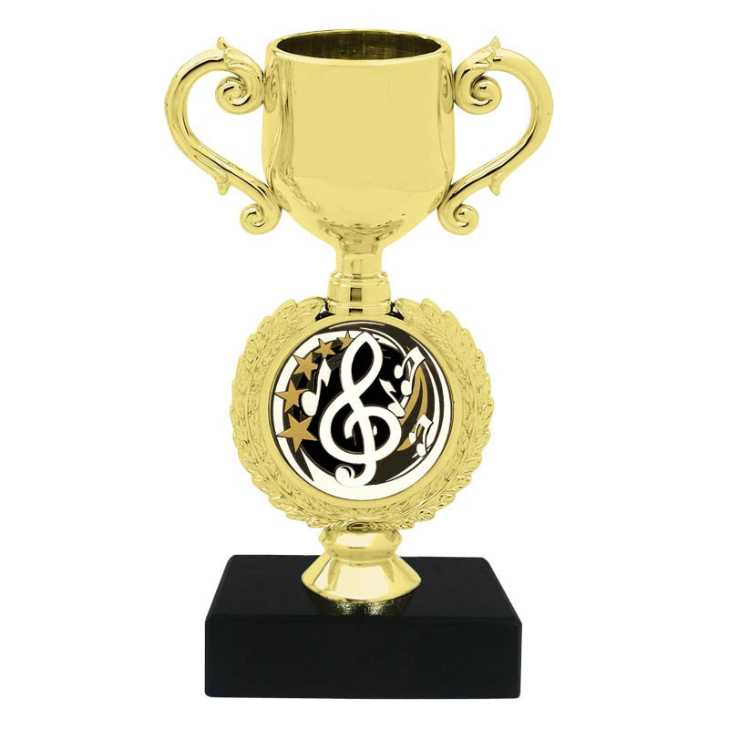 Music Insert Trophy Cup