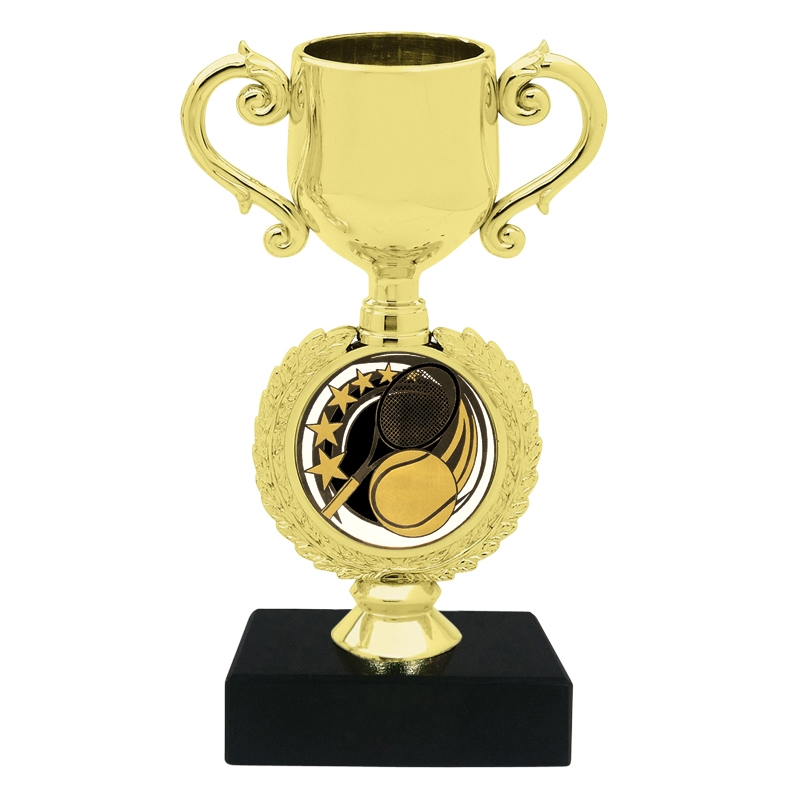 Tennis Insert Trophy Cup