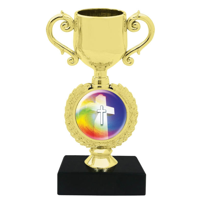 Religious Cross Trophy Cup
