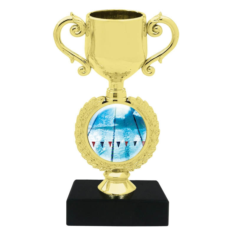 Swimming Trophy Cup