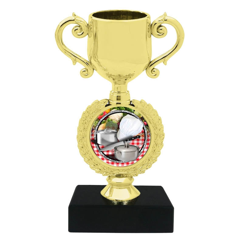 Chef Cooking Trophy Cup