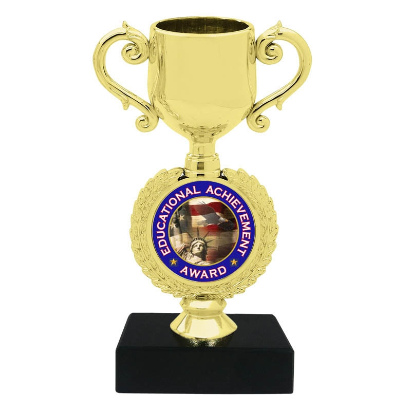 Educational Achievement Award Trophy Cup