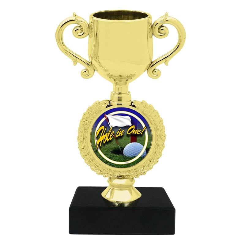 Hole in One Trophy Cup