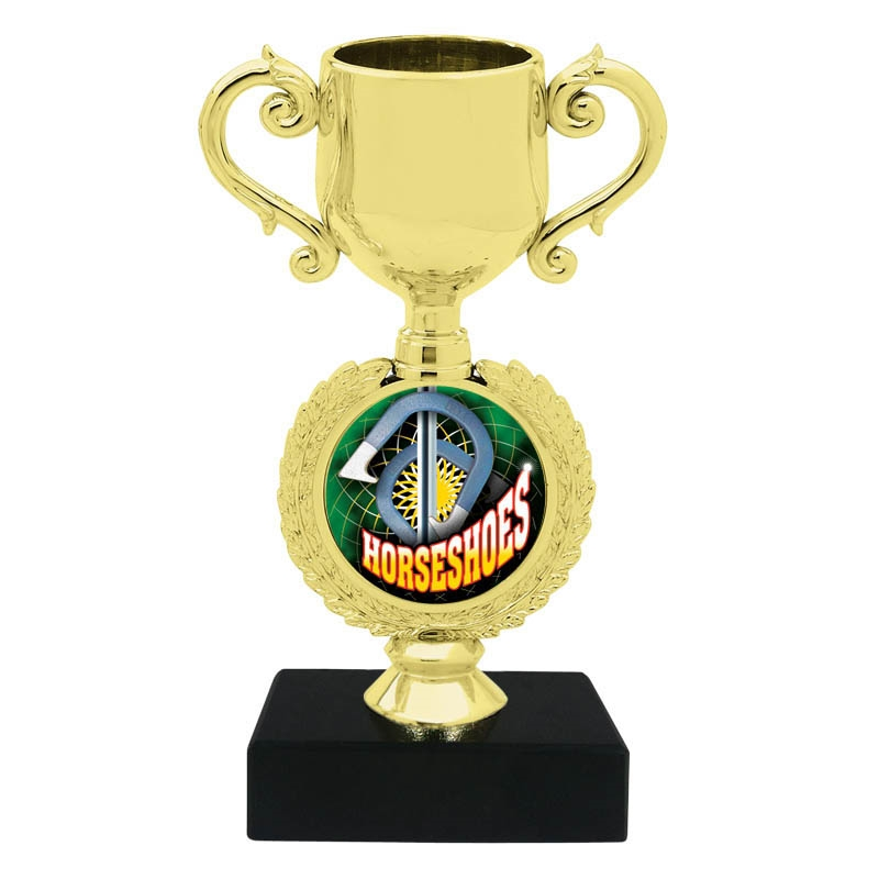 Horseshoes Trophy Cup