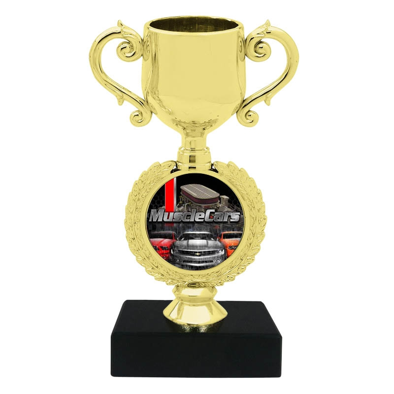 Muscle Car Trophy Cup