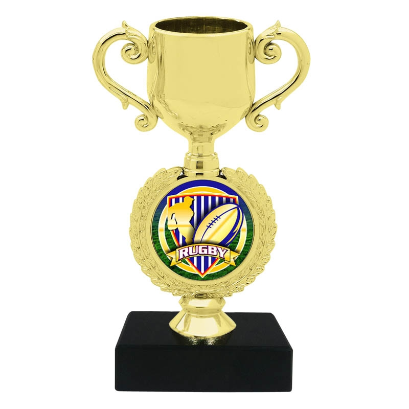 Rugby Trophy Cup