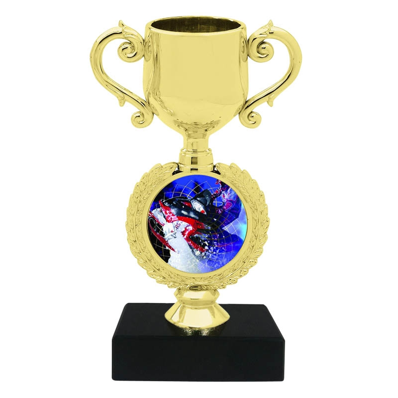 Snow Mobile Trophy Cup