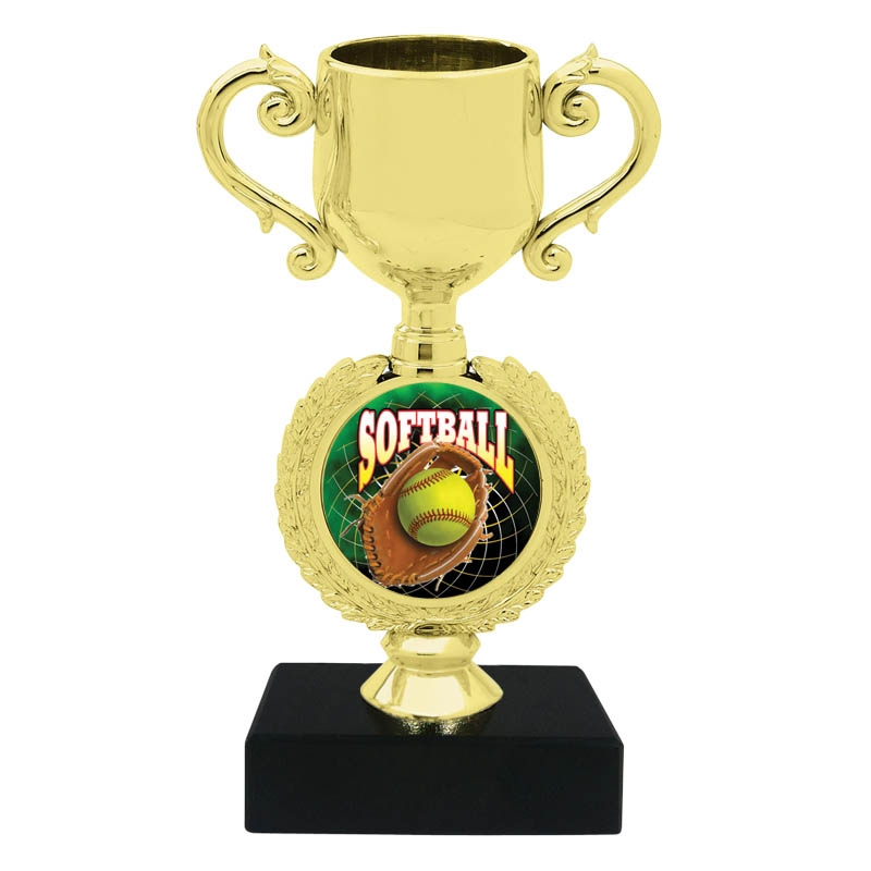 Softball Trophy Cup