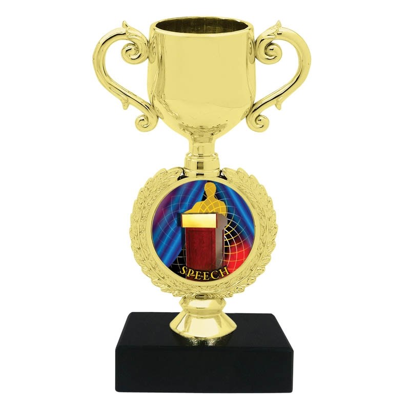 Speech Trophy Cup