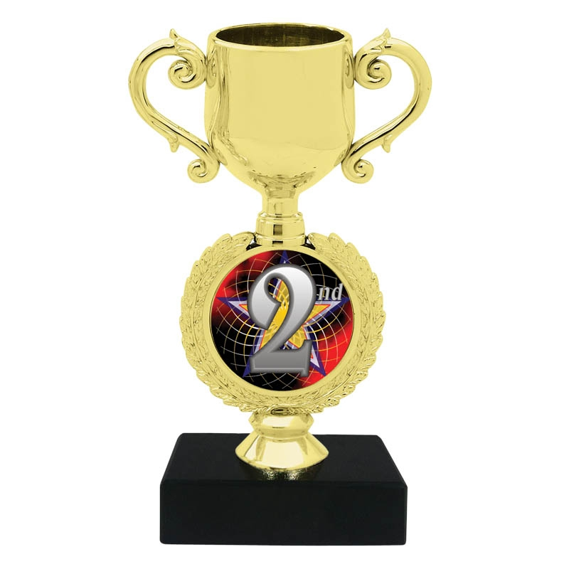 2nd Place Trophy Cup