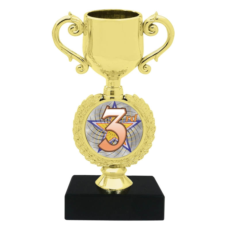 3rd Place Trophy Cup