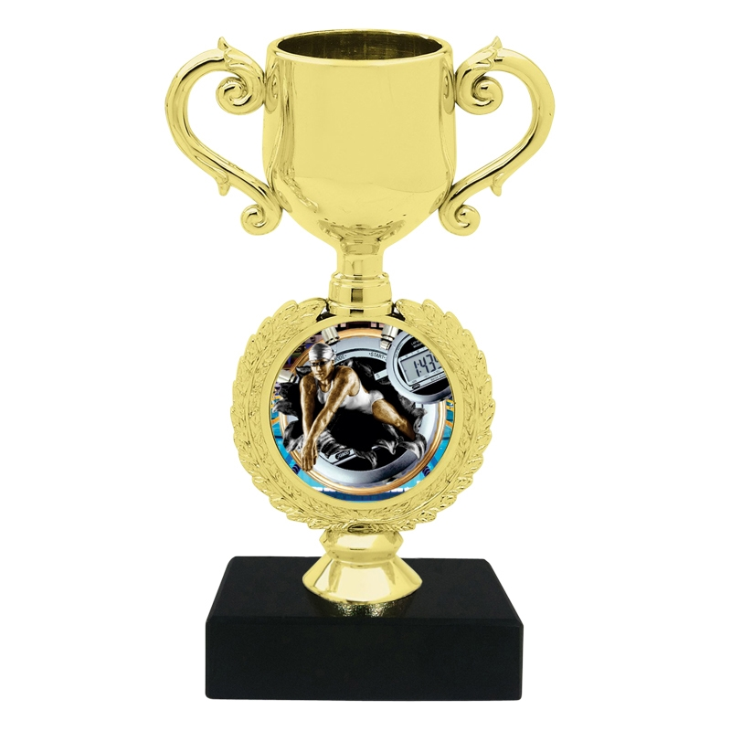 Burst Female Swimming Trophy Cup