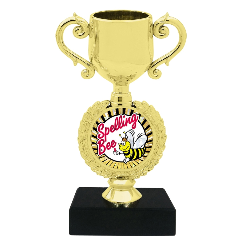 Spelling Bee Trophy Cup Cheap Trophy Express Medals