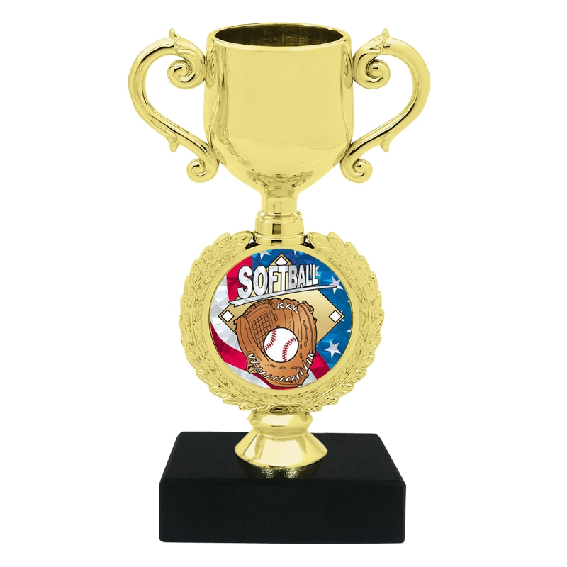 USA Softball Trophy Cup