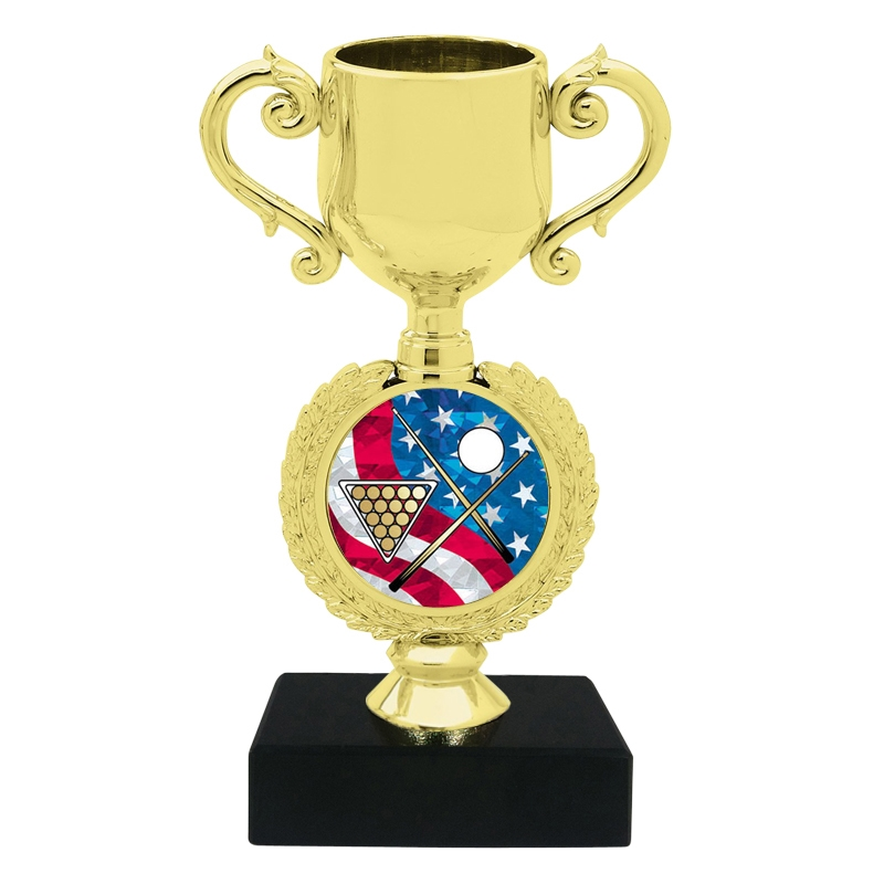 USA Billiards Trophy Cup
