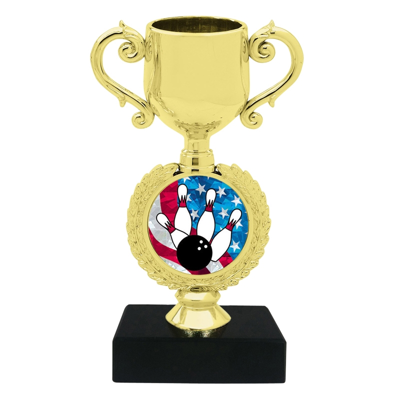 USA Bowling Trophy Cup