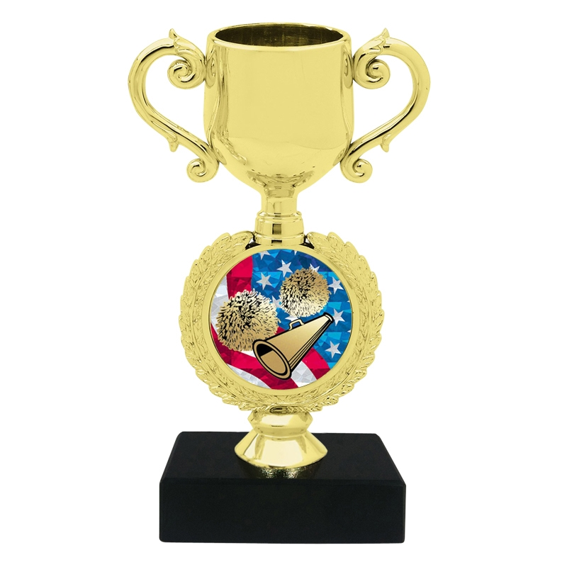 USA Cheerleading Trophy Cup