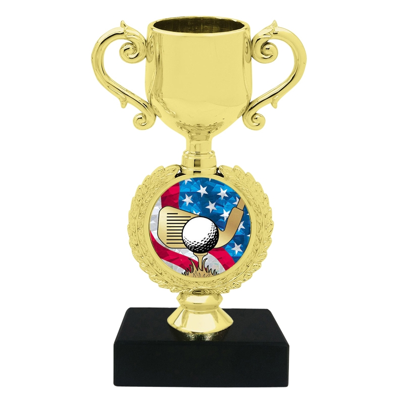 USA Golf Trophy Cup