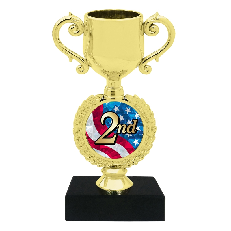 USA 2nd Place Trophy Cup