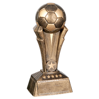 "8-1/2"" Soccer Ball Trophy"