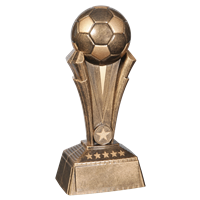 "10"" Soccer Ball Trophy"