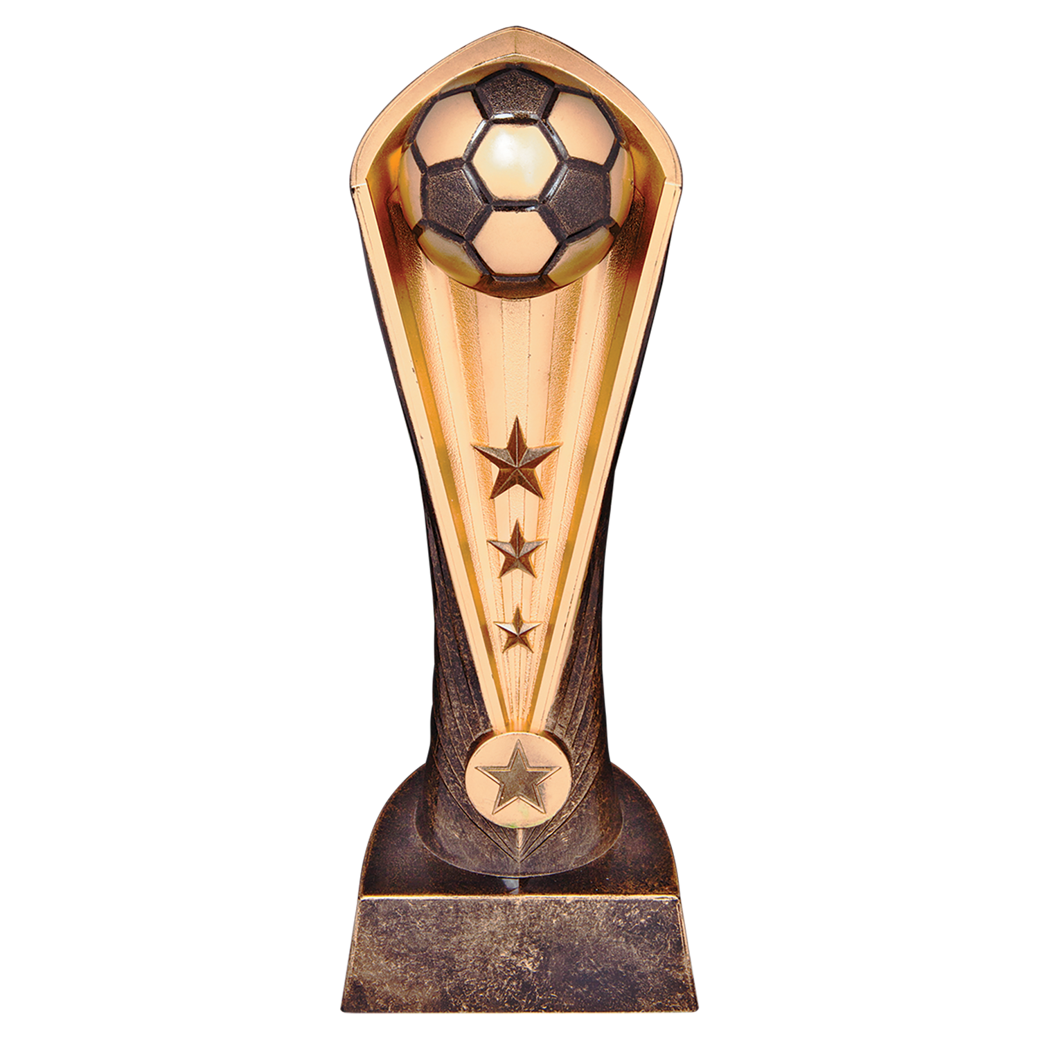 "9"" Soccer Ball Trophy"