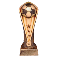 "10-1/2"" Soccer Ball Trophy"