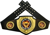 5K Flame Championship Award Belt
