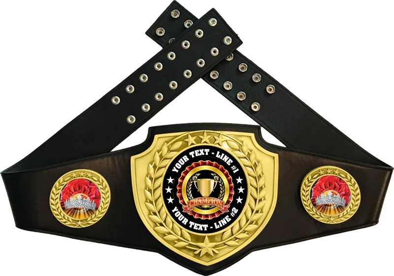 Beauty Home Coming Queen Championship Award Belt