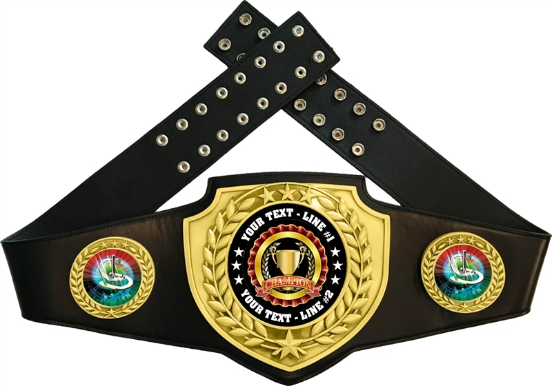 Horseshoes Championship Award Belt