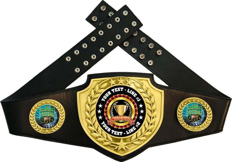 Fantasy Football Championship Belt Custom Fantasy Football Trophy Express Medals