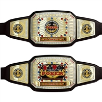 Champion Poker Award Belt CABL130