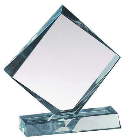 "5-3/4"" Color Diamond Acrylic Award (2-Colors)"