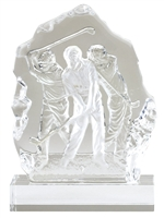 Sculptured Glass Golf Award