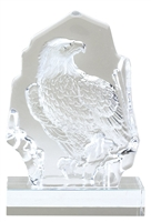 Sculptured Glass Eagle Award