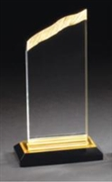 "7"" Chisel Top Acrylic Awards"