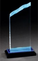 "8"" Chisel Top Acrylic Awards"
