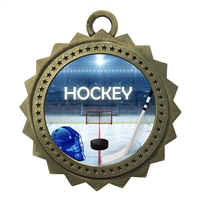 "3"" Ice Hockey Medal"