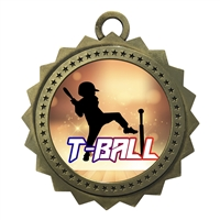 "3"" T Ball Tee Medal"