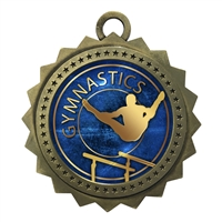 "3"" Male Gymnastics Medal"
