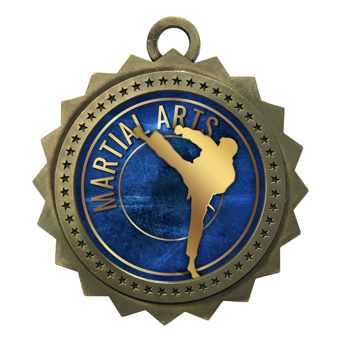 "3"" Martial Arts Medal"