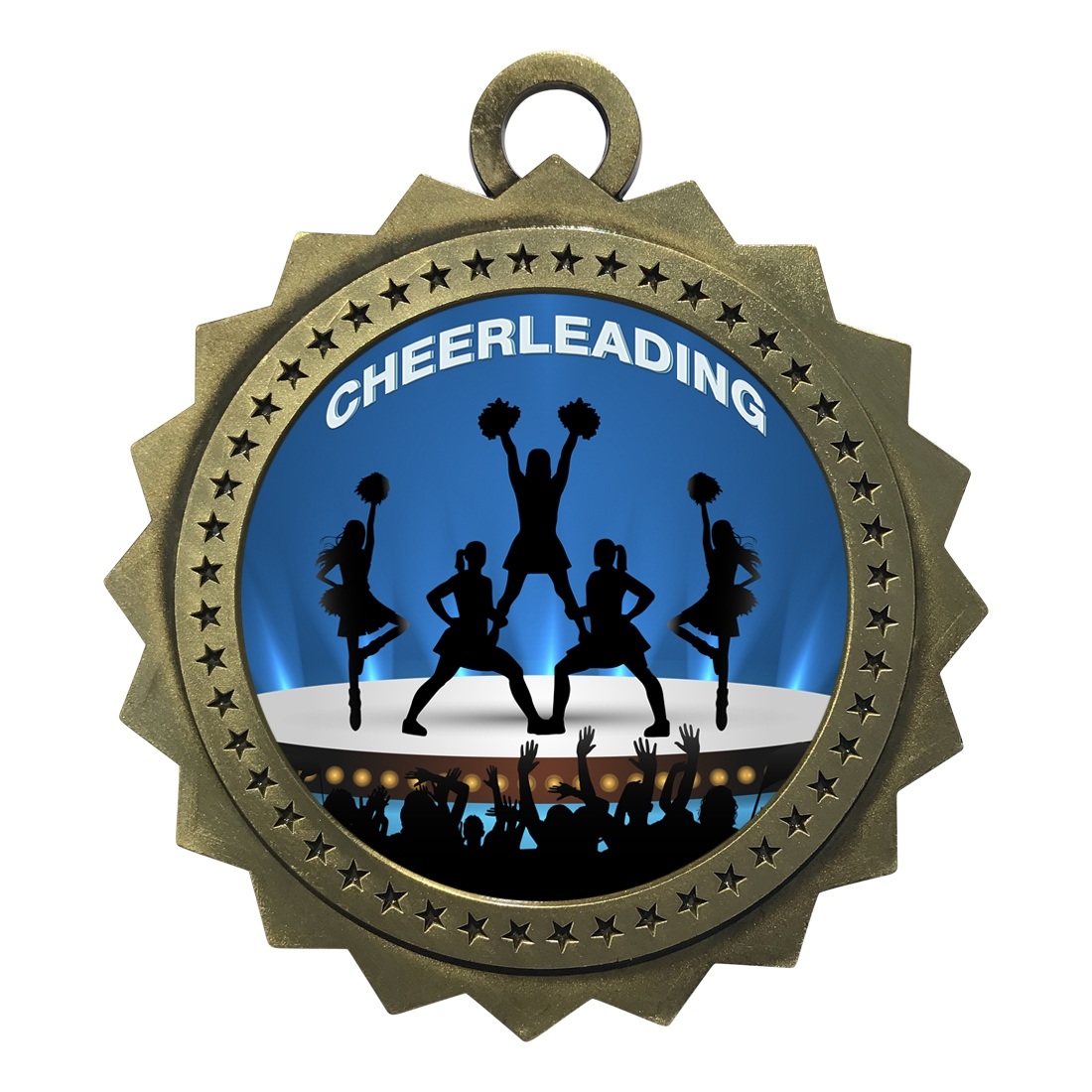 "3"" Cheerleading Medal"